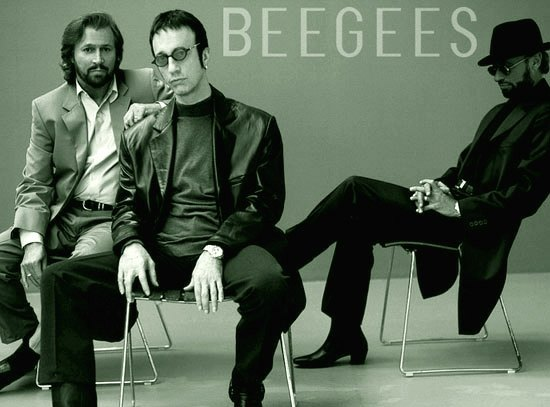 bee gees - 2001 - фрагмент оформления буклета альбома this is where i came in