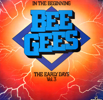 обложка сборника. in the begginning - bee gees - the early days, vol.3. 1974