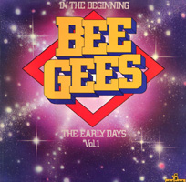 обложка сборника. in the begginning - bee gees - the early days, vol.1. 1974